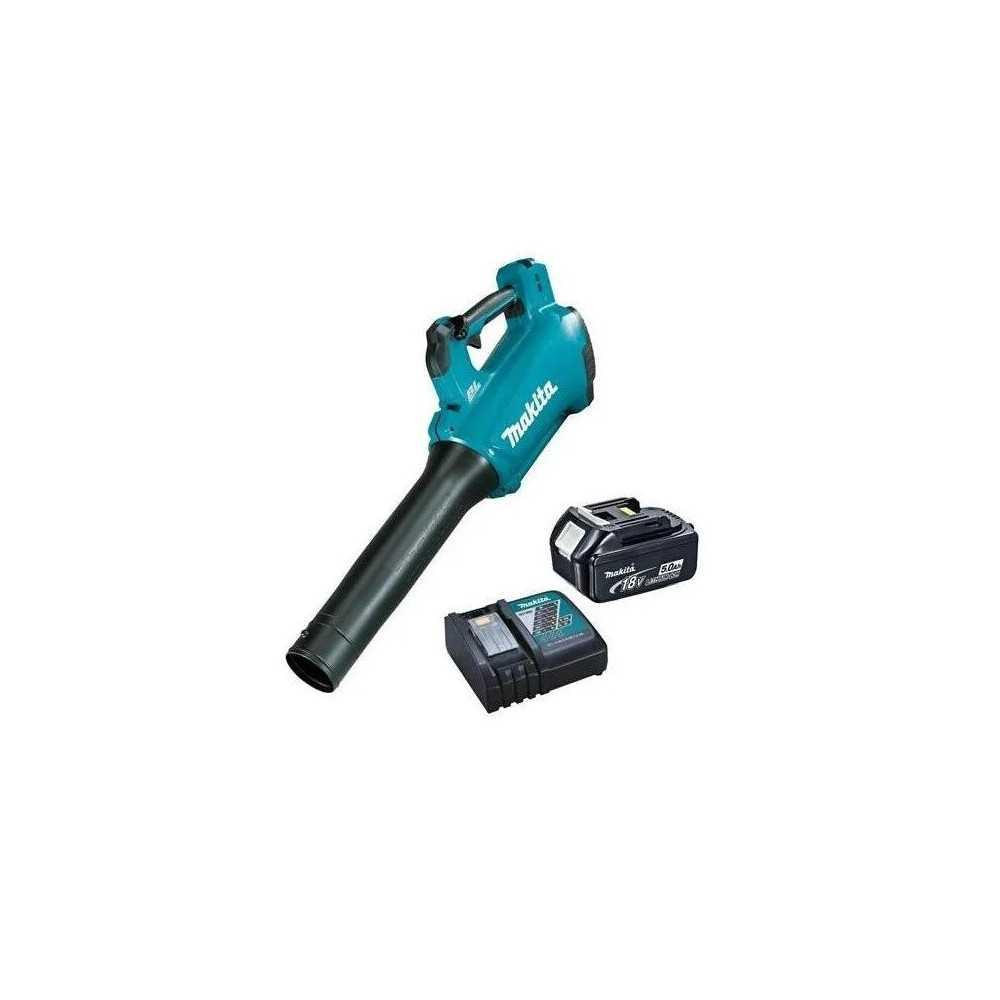 Soplador Inalámbrico 18V LXT + 1 bateria 5.0 Ah + Cargador Makita DUB184RT