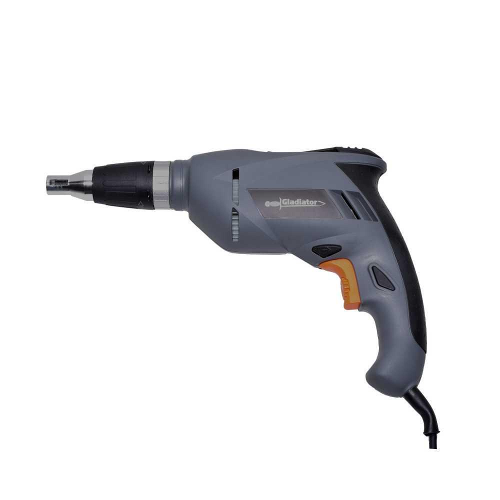 """Atornillador Electrico Drywall 1/4"""" 600W AE 614 Gladiator MI-GLA-052232"""