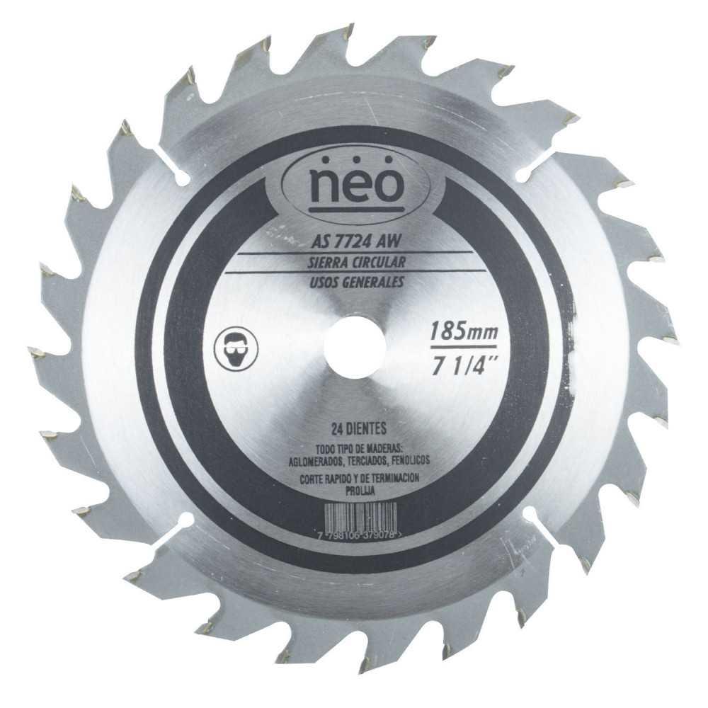 """Disco Sierra 7 1/4"""" 24 Dientes AS 7724 AW Neo MI-NEO-044482"""