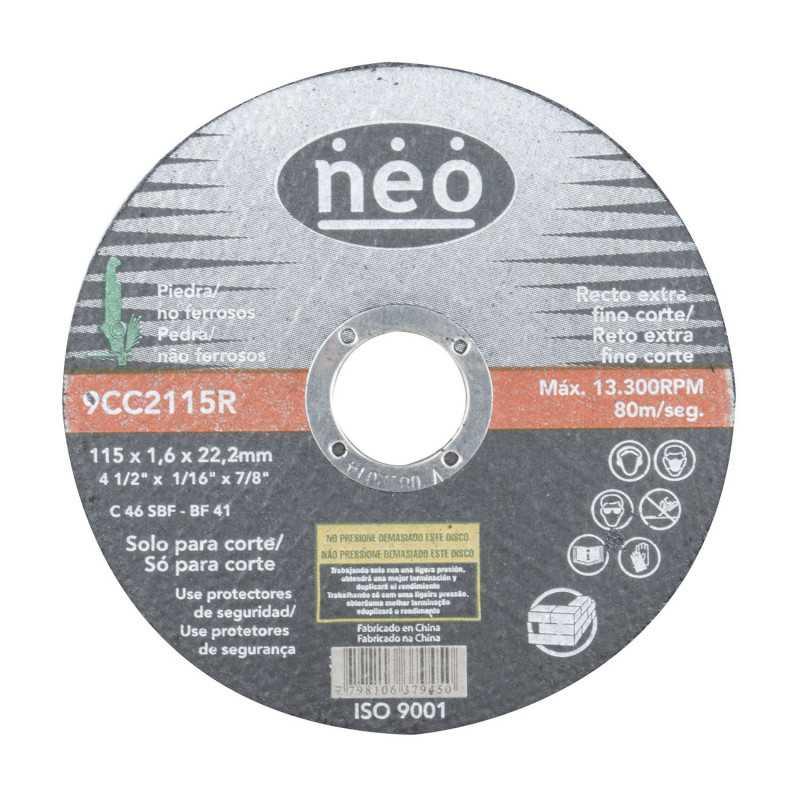 "Disco de Corte Piedra 4 1/2"" 9CC2115R Neo MI-NEO-042812"