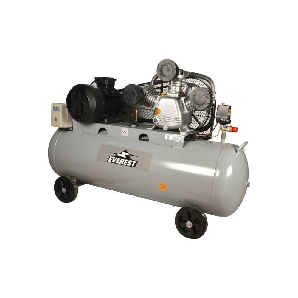 Compresor de aire 7.5HP 300Lts. 380V. CEV75300 Everest MI-EVE-053168