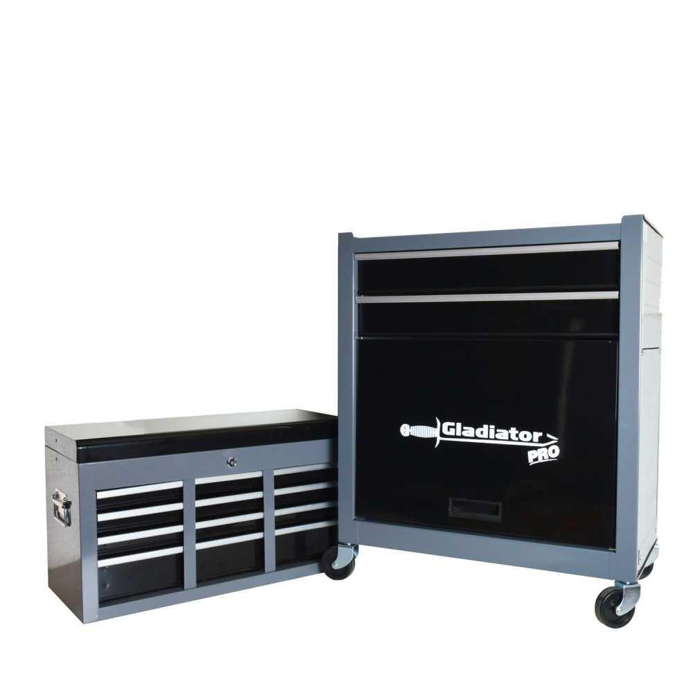 Carro Porta herramientas 2 Gabinetes de 2 y 6 Cajones GH 7001 Gladiator MI-GLA-050439