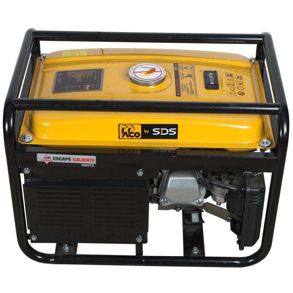 Generador Eléctrico bencinero 2.5kW SGG3500L Sds Power MI-SDS-37660