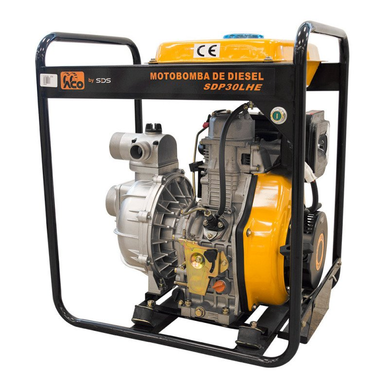 """Motobomba Diesel 3""""x3"""" Alta presion SDP30HE Sds Power MI-SDS-049382"""