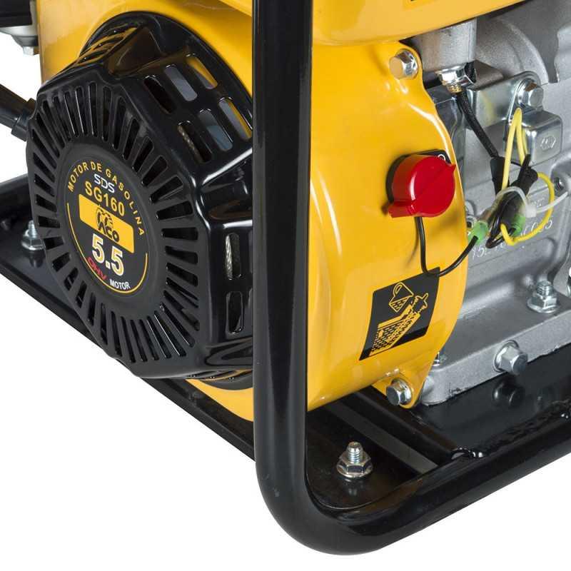 "Motobomba Bencinera 2""x2"" 5.5 Hp SGP20L Sds Power MI-SDS-37663"