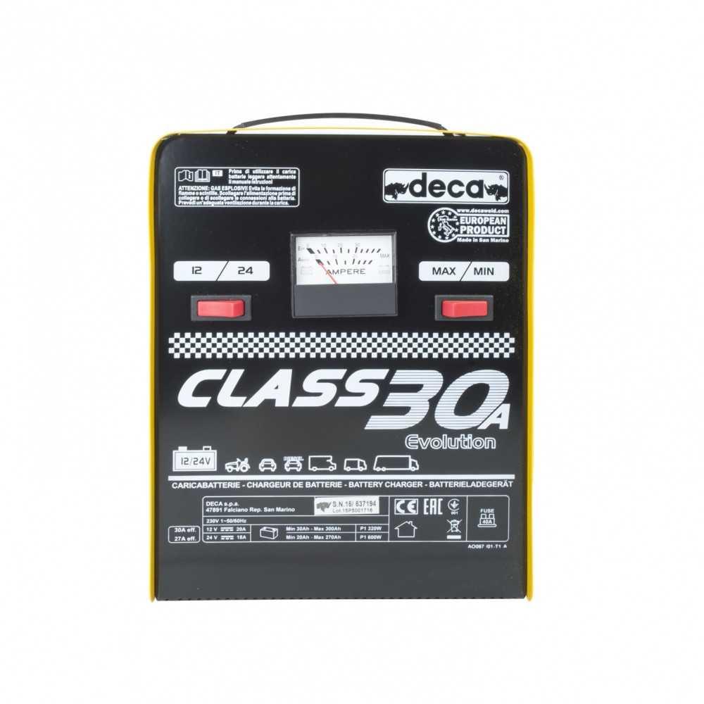 Cargador de Batería 12/24 V CLASS 30 (318500) Deca MI-DCA-12504