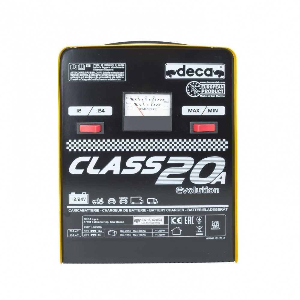 Cargador de Batería 12/24V CLASS 20 (310600) Deca MI-DCA-27049