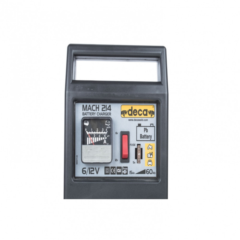 Cargador de Batería 6/12V MATCH 214 (302200) Deca MI-DCA-27946
