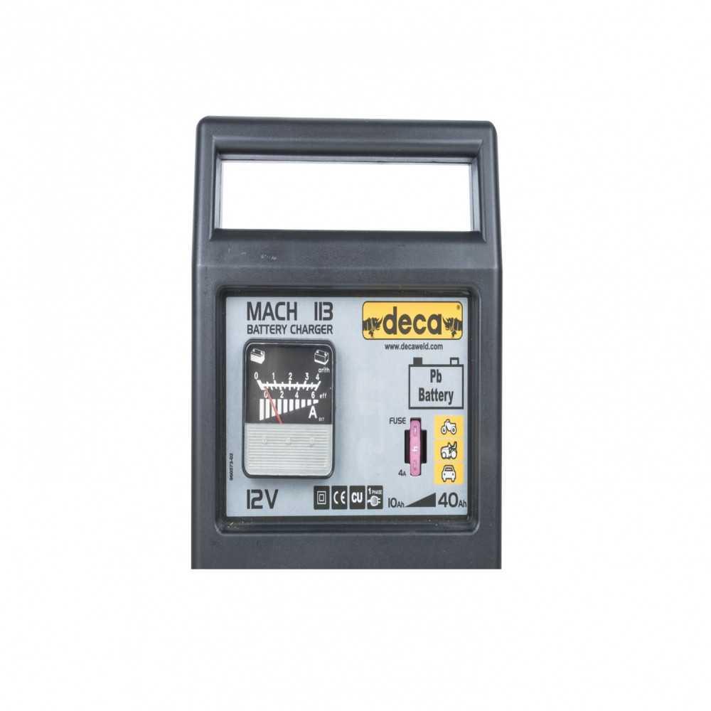 Cargador de Batería 12V MATCH 113 (301200) Deca MI-DCA-28771