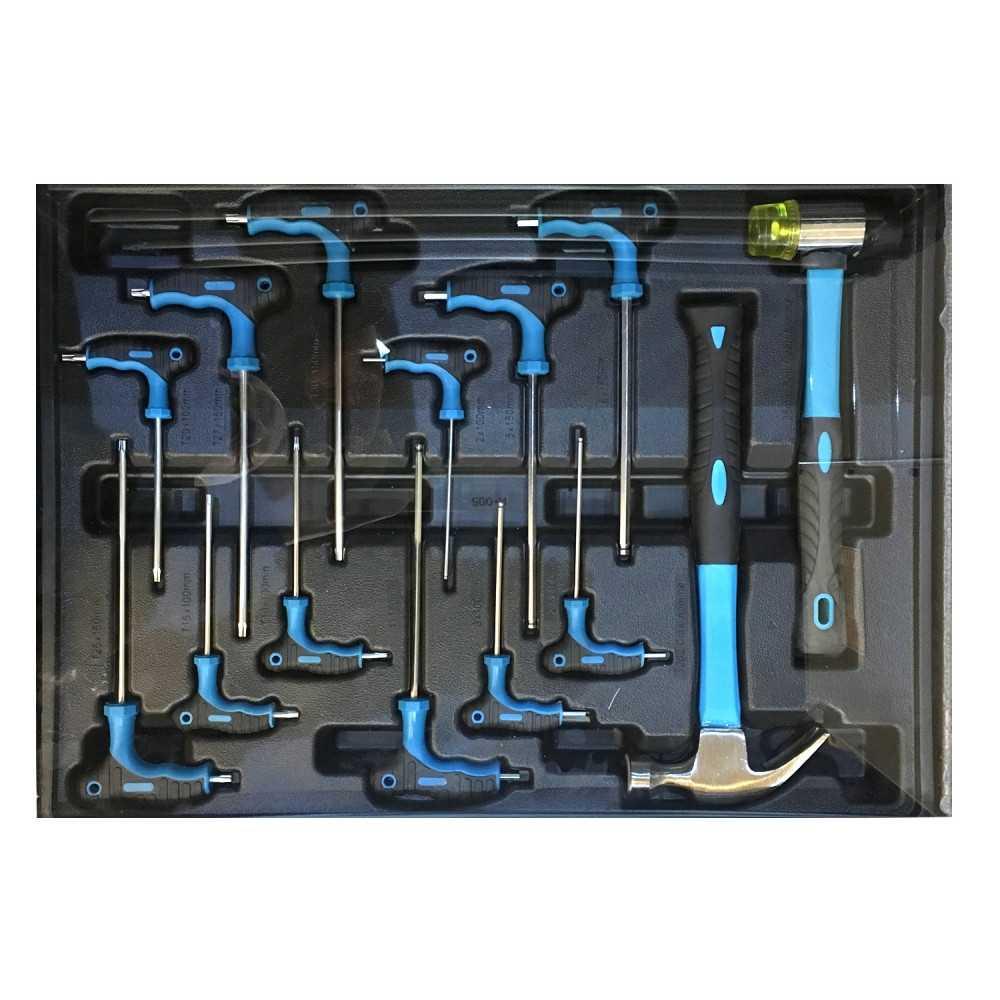 Carro Porta herramientas 155 PIEZAS 5 CAJONES K-150 Ktg Auto Tool MI-KTG-052904