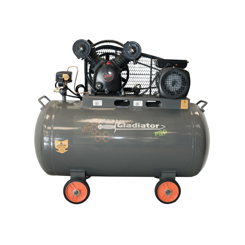 Compresor de aire 3HP 150L CE 815/220/M/50/3 Gladiator MI-GLA-051523