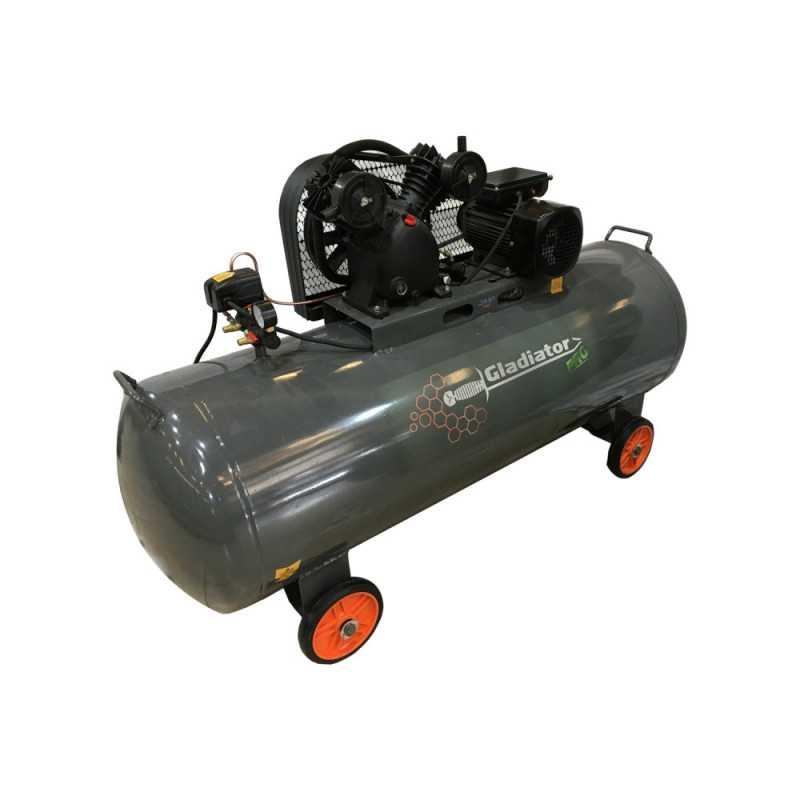 Compresor de aire 3HP 200L CE 820/220/M/50/3 Gladiator MI-GLA-052281