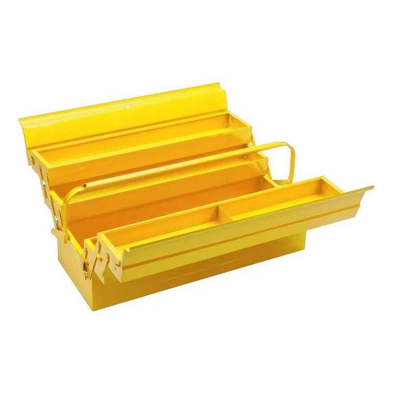 Caja de herramientas Metálica 5 compartimientos Amarilla Bahco 3149-YL