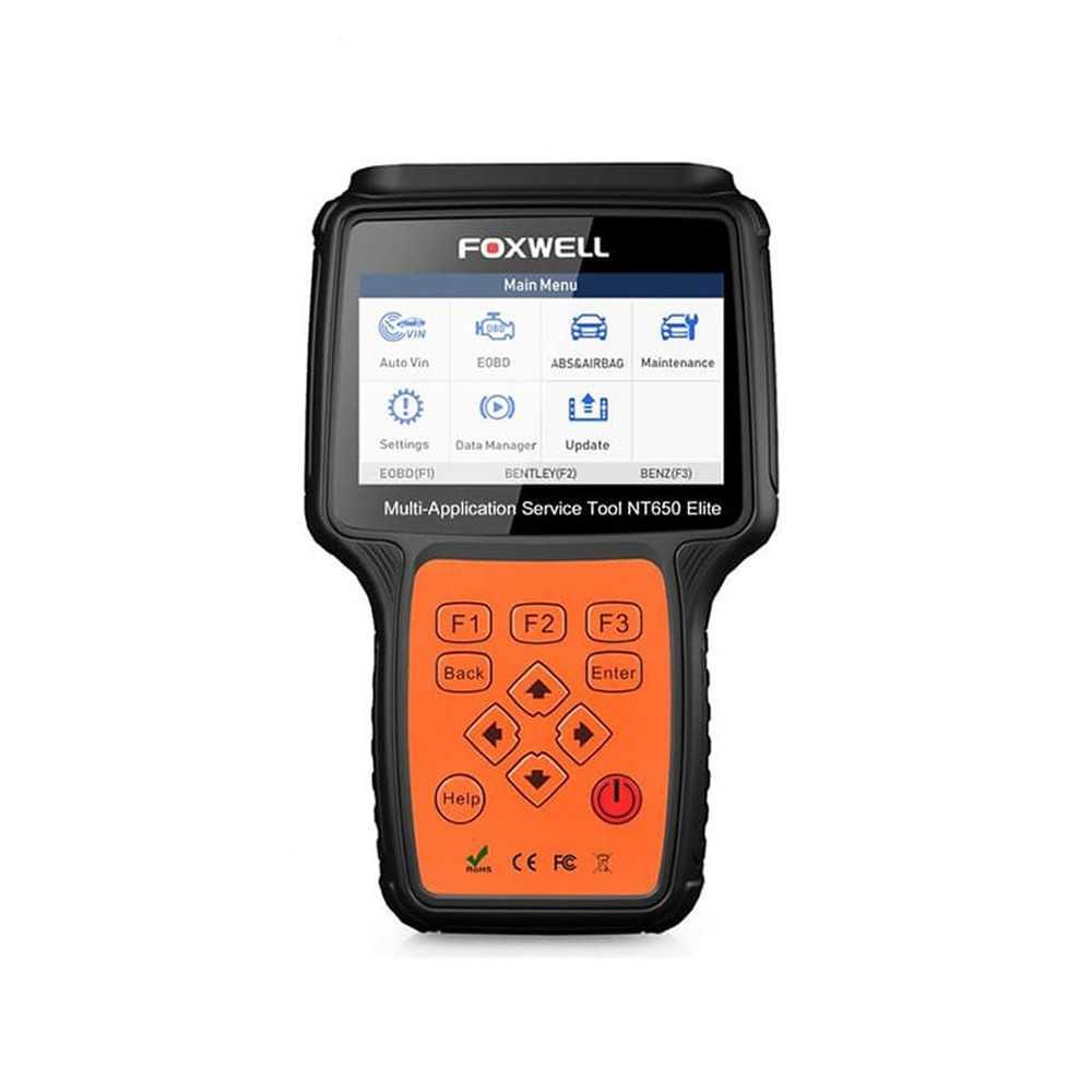 Escaner multimarca NT650 Elite. Foxwell MI-FOX-053562