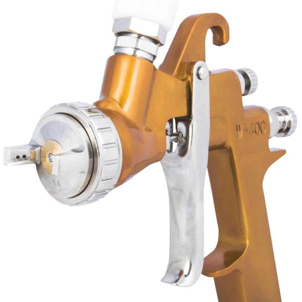 Pistola De Pintar Boquilla 1.7 mm 600cc W400 Muzi MI-MUZ-46210