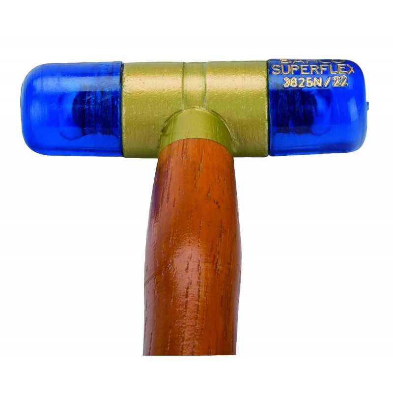 Martillo de Plástico Superflex Mango de Madera 1.2 KG Bahco 3625N-60