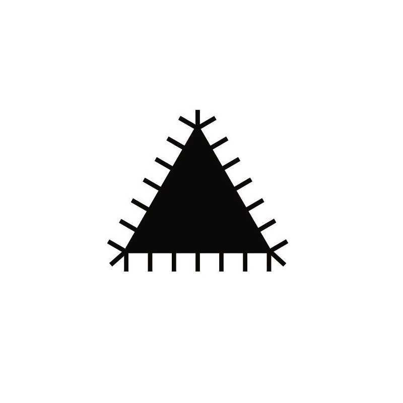 """Lima Triangular Extra Delgada 6"""" ERGO™ Picado Entrefino Bahco 4-187-06-2-2"""