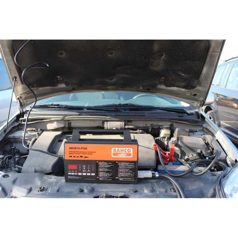 Cargador de Batería 12V 100A Bahco BBCE12-F100