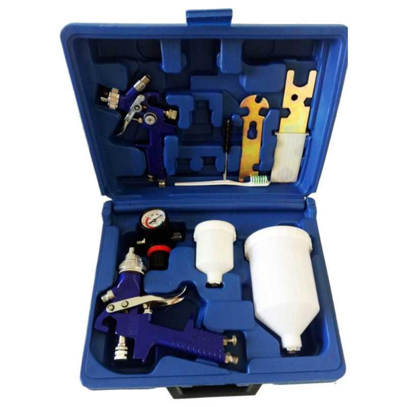 "Set Pistolas DE PINTAR 1/4"" H827+H2000 Novia Tools MI-NVT-051456"