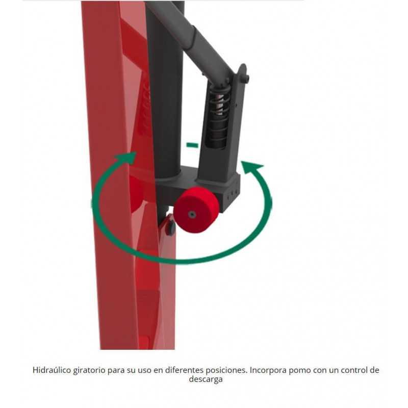 Grúa Tecle Pluma Plegable 1000 kg CRP10 Mega MI-MEG-051004
