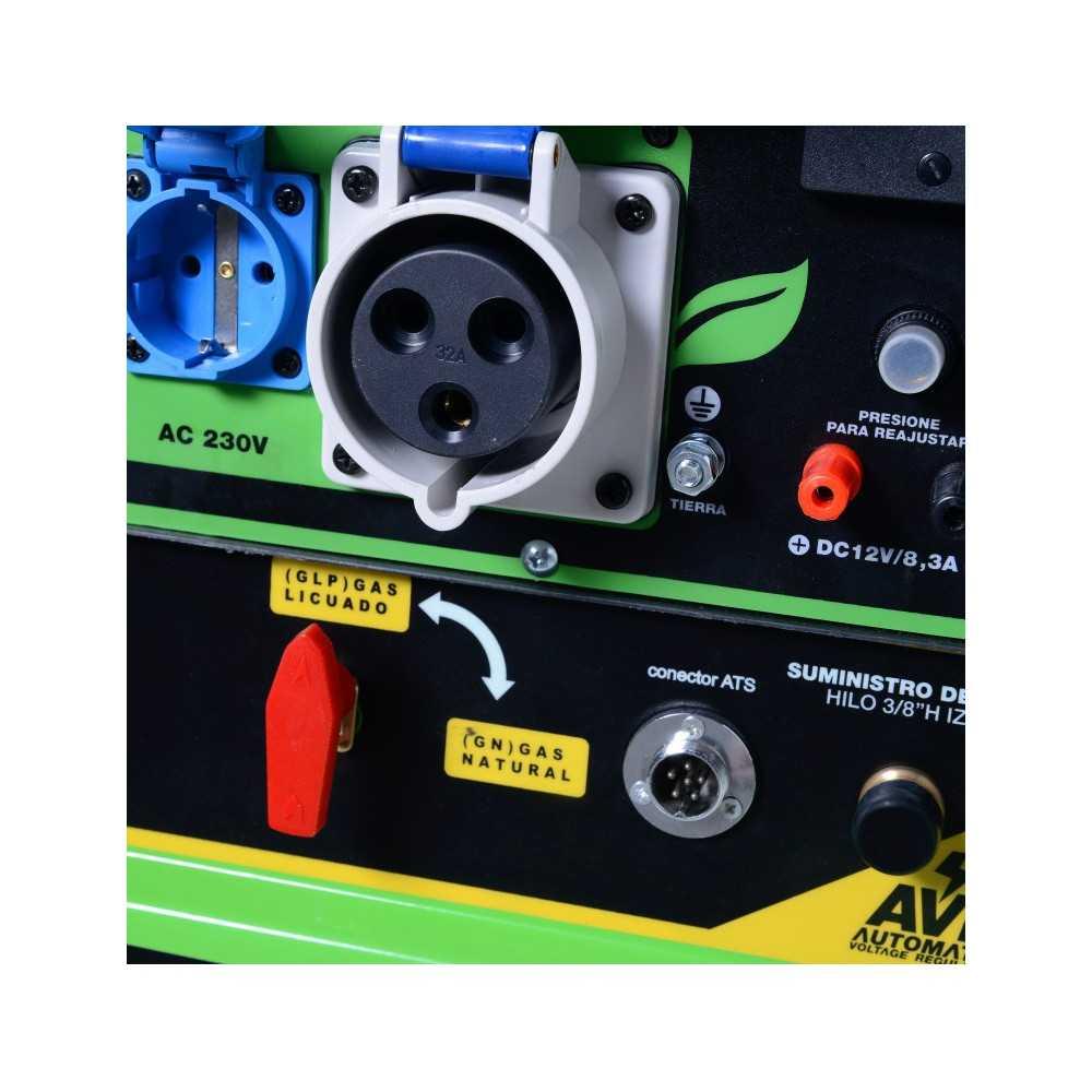 Generador eléctrico a gas Insonorizado 5.0 Kw Power Pro 600000603
