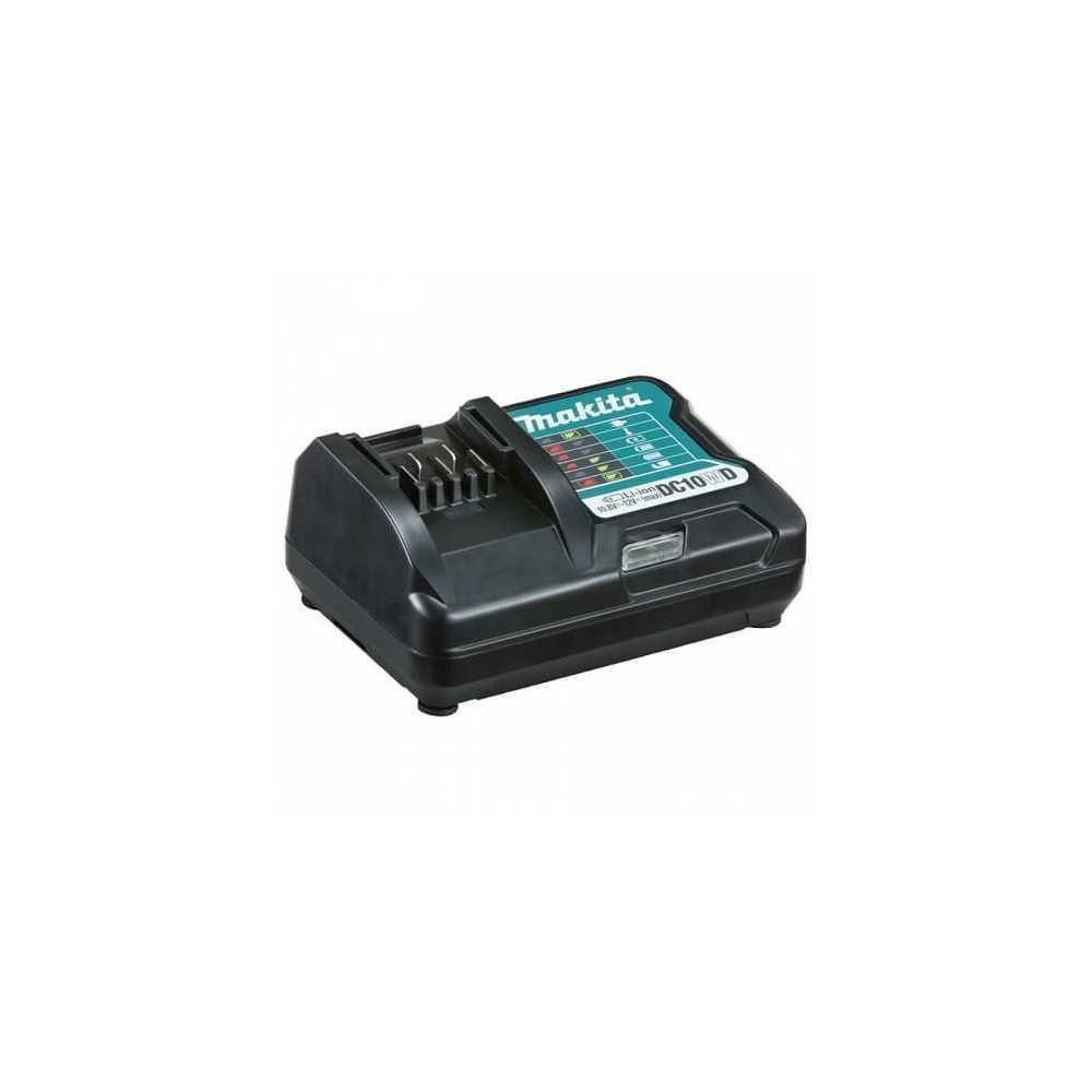 Chaqueta Térmica Talla XL CJ102D + Batería 12V MAX 1.5 Ah BL1015 + Cargador DC10WD Makita CJ102DZXL-1