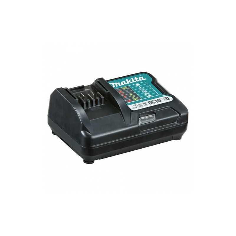 Chaqueta Térmica Talla L CJ105D + Batería 12V MAX 1.5 Ah BL1015 + Cargador DC10WD Makita CJ105DZL-1