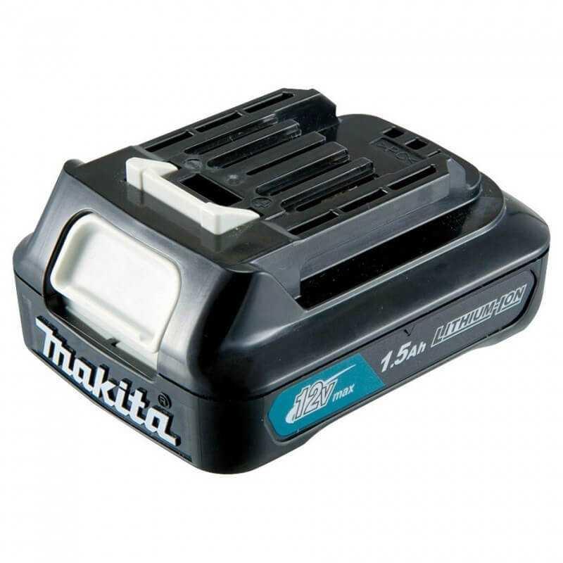 Chaqueta Térmica Talla M CJ105D + Batería 12V MAX 1.5 Ah BL1015 + Cargador DC10WD Makita CJ105DZM-1