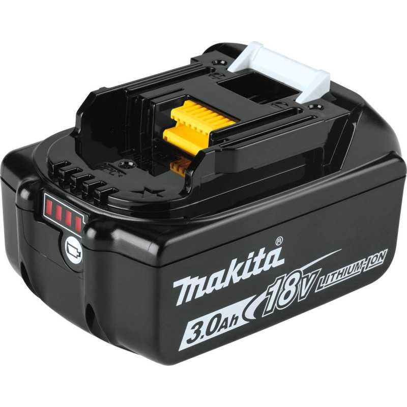 Chaqueta Térmica Amarilla Talla S 18V+ Batería 18V 3Ah BL1830B + Cargador DC18SD Makita DCJ206ZS-2