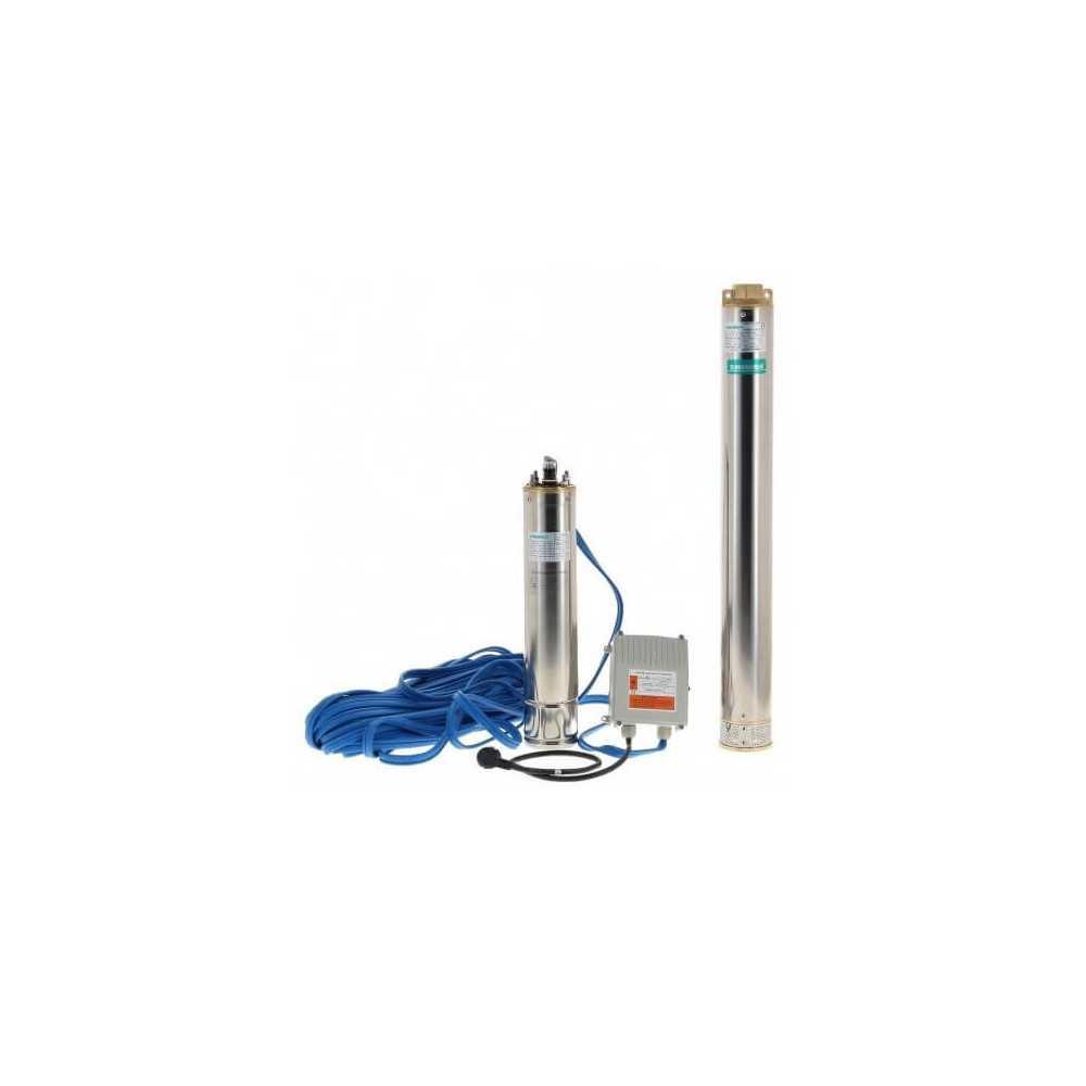 "Bomba de Agua Sumergible Pozo Profundo 4"" 1.5HP 4SGM10/7 Shimge 103011497"