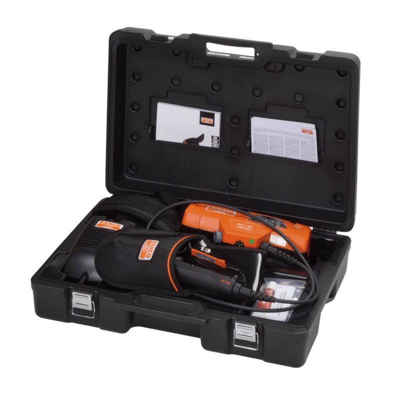 Tijera Podadora Inalámbrica con Batería de 1730W 45mm Bahco BCL22