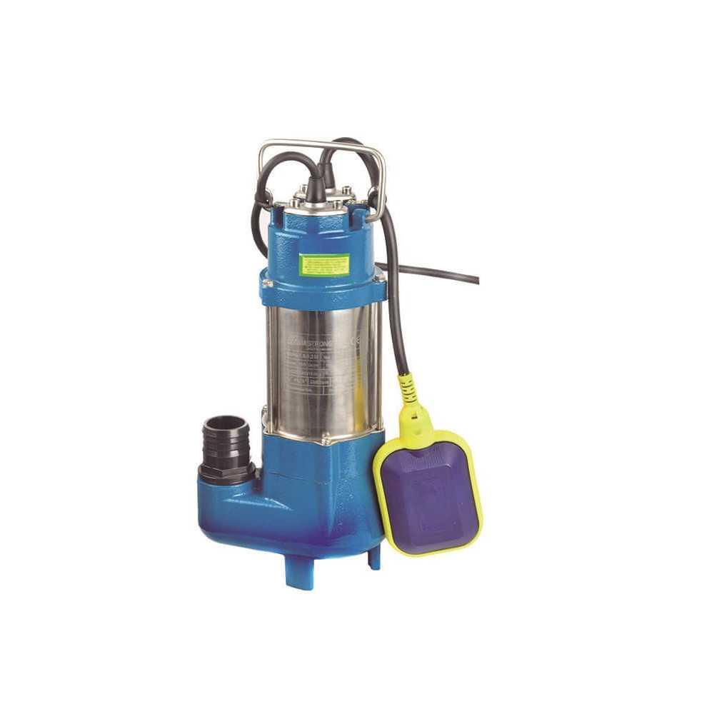 Bomba de Agua Sumergible para Aguas Residuales 0.33HP Hierro Fundido ESP9-7.5/0.25I AQUASTRONG ESP975