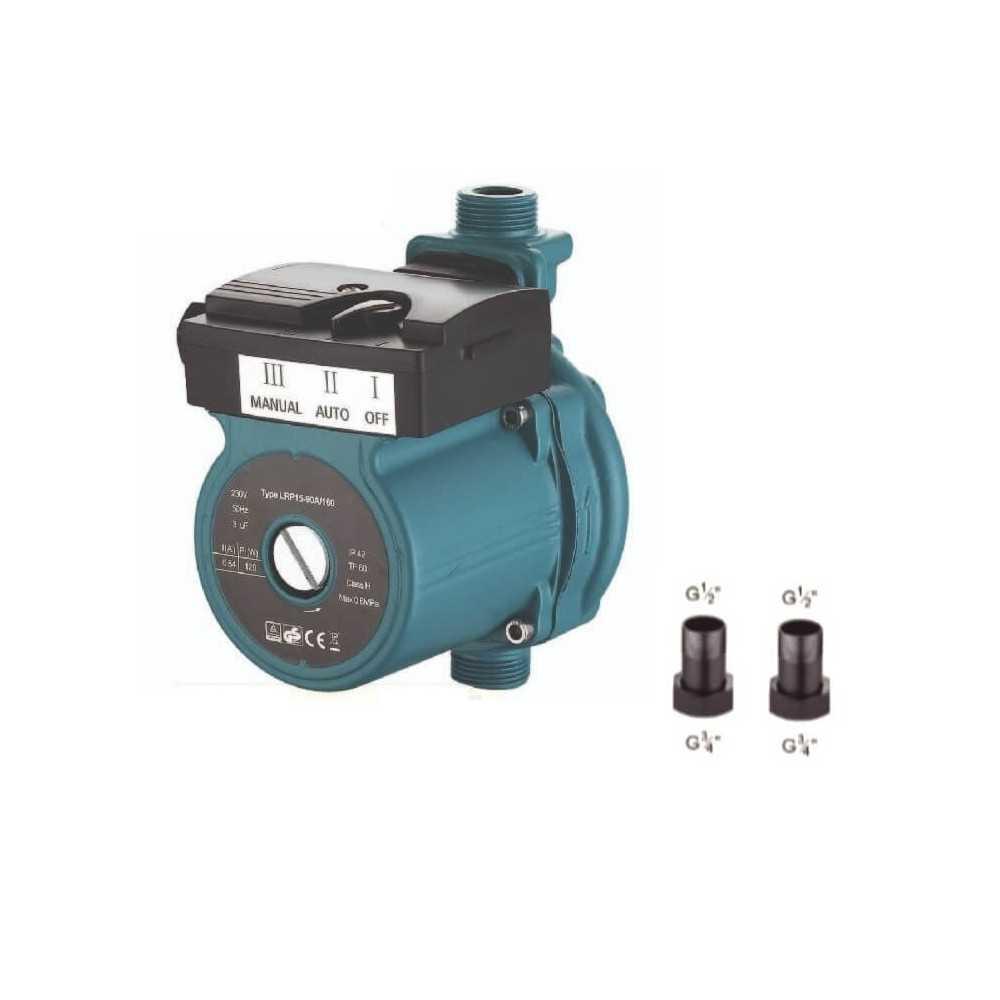"""Bomba de Agua Aumentadora de presión 1/2"""" x 1/2"""" 123W ERP15-90A/160 AQUASTRONG ERP1590"""