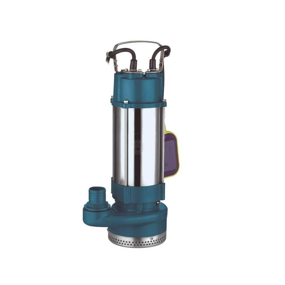 """Bomba de Agua Sumergible para Drenaje 2"""" 2 HP 220 V AQUASTRONG EQS14.5-42/3-1.5I"""