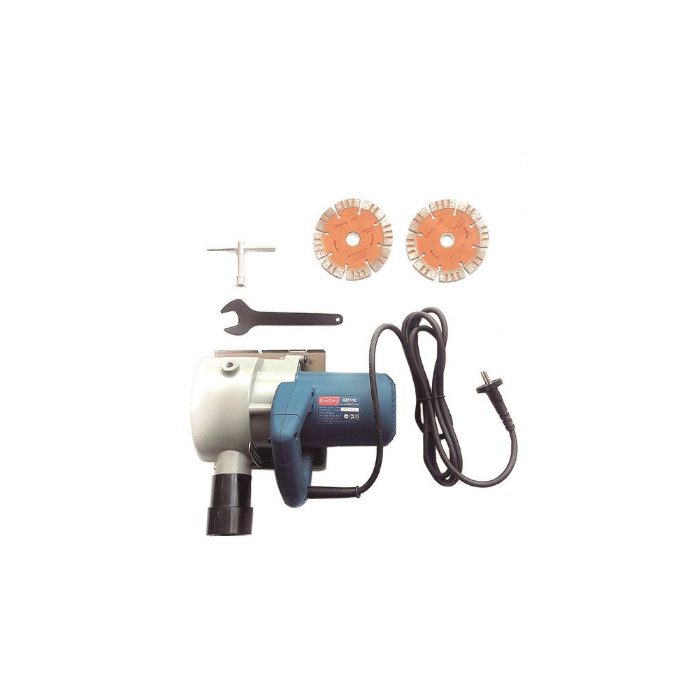 Ranuradora de Concreto 1600W - 32/50 MM- 10800R.P.M . DONGCHENG DZR110