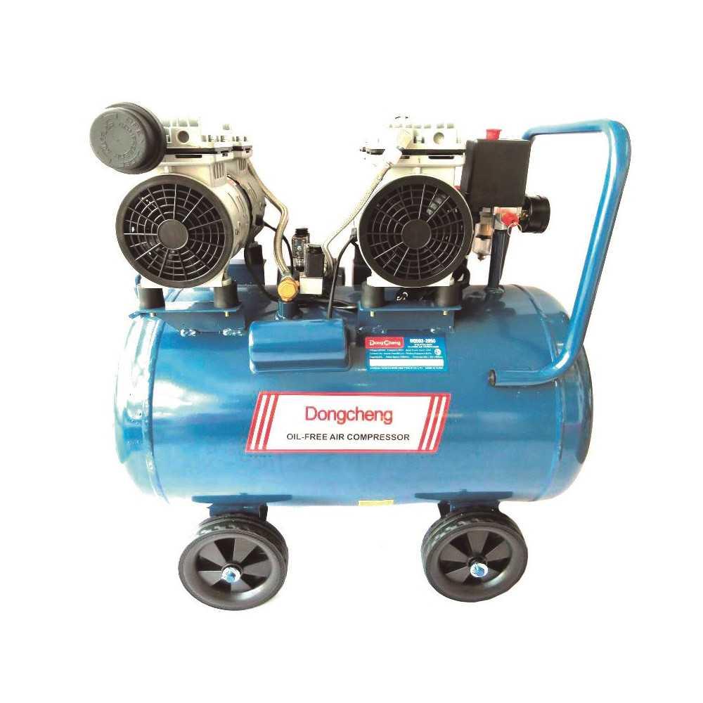 Compresor de Aire libre de aceite 1600 W - 8 BAR - 50 L. DONGCHENG DQE02-2850