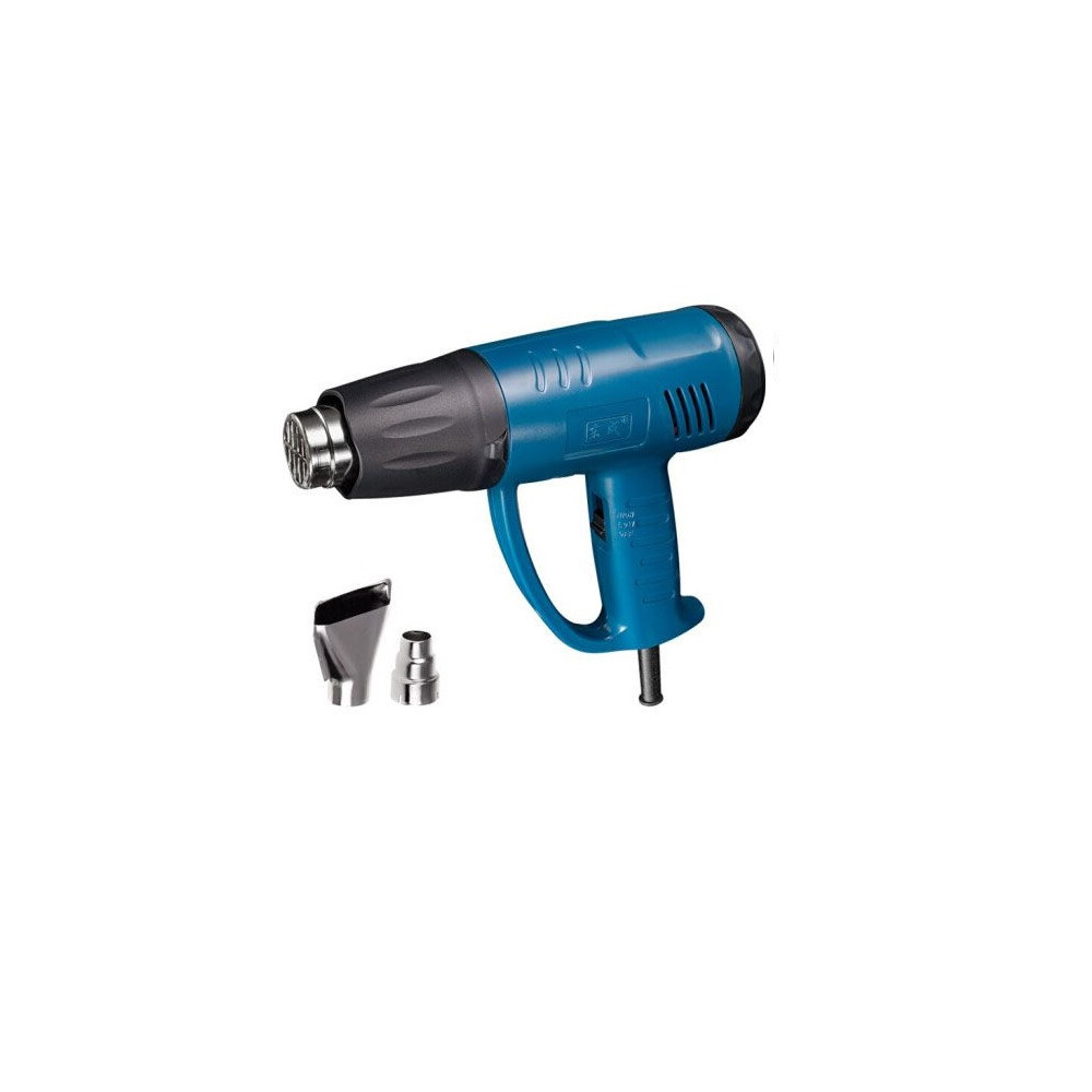 Pistola de Calor 1600 W + Juego Carbones + Espátula. DONGCHENG DQB02-1600