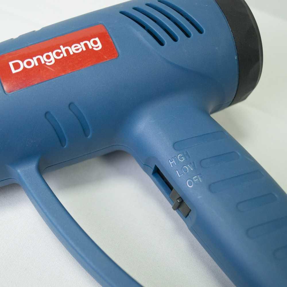 Pistola de Calor 2000 W + Juego Carbones + Espatula. DONGCHENG DQB2000