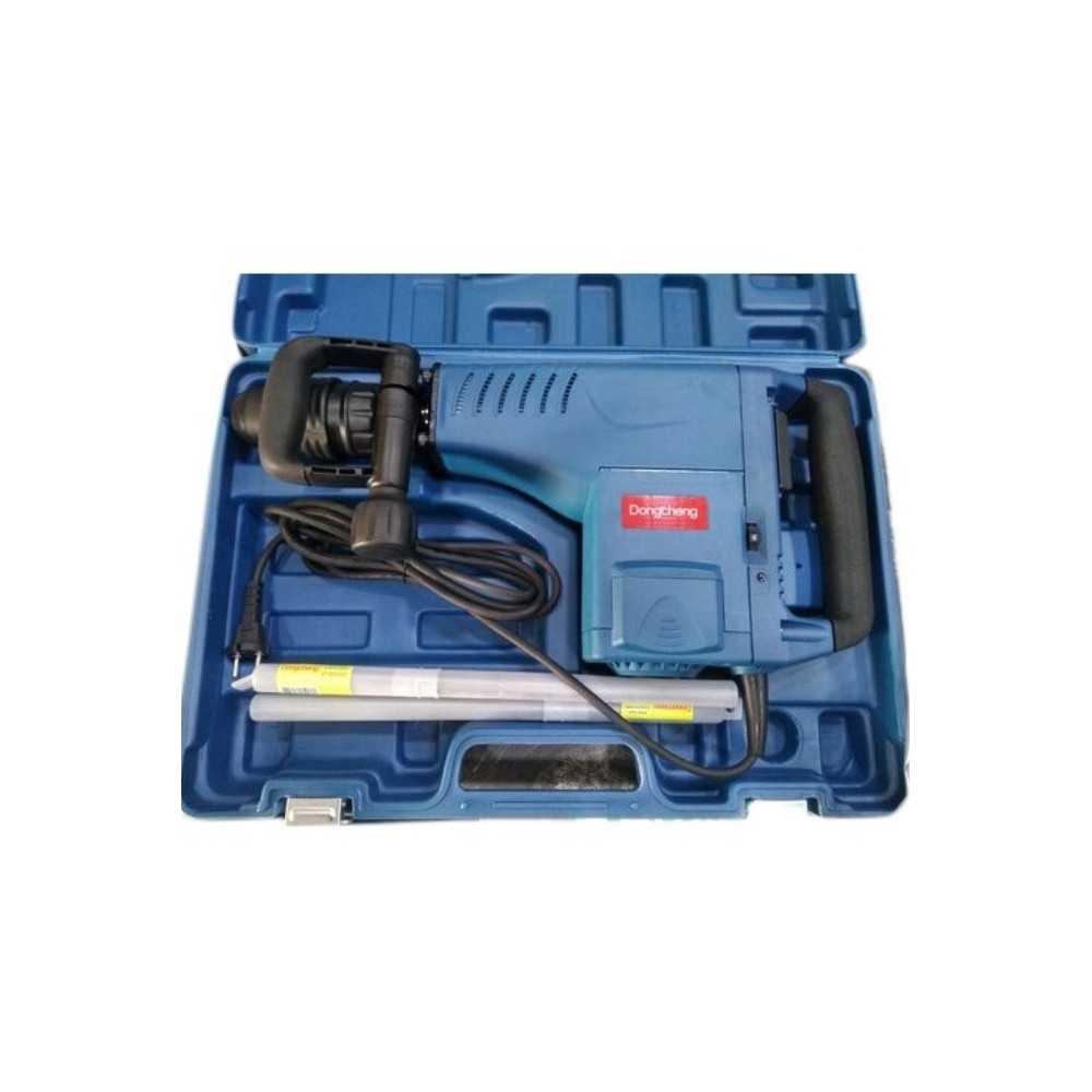 Martillo Demoledor SDS-MAX 1500 W + Accesorios. DONGCHENG DZG10