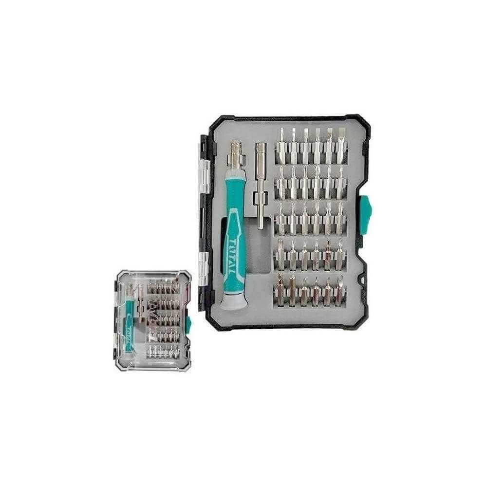 Juego de Destornilladores de Precisión 32 Pzas. Total Tools TACSD30326