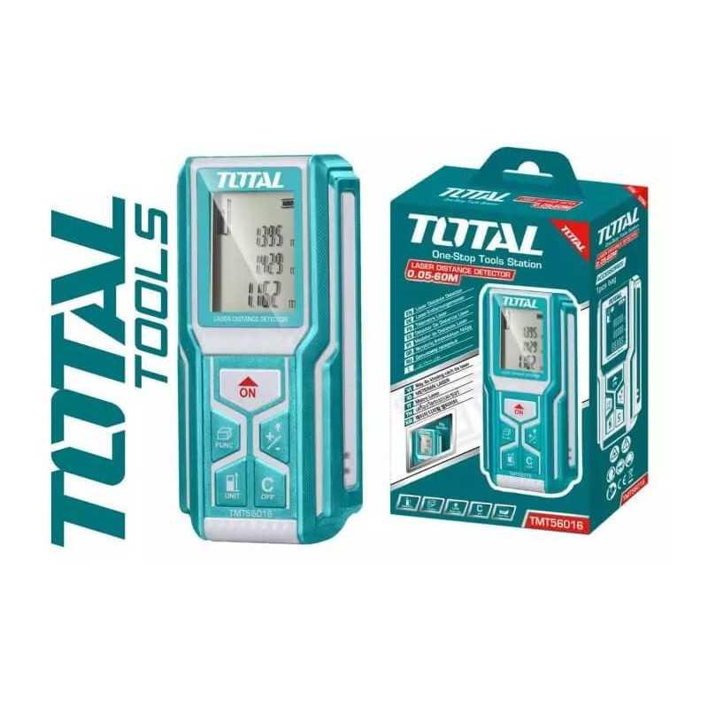 Medidor de distancia Láser 0.05-60M. Total Tools TMT56016