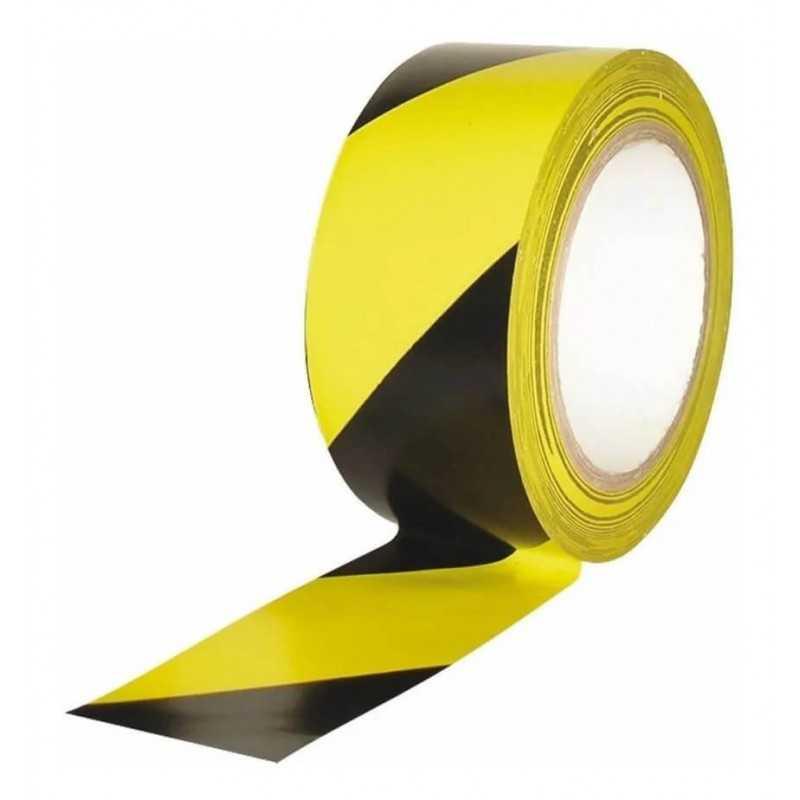 Cinta Demarcatoria PVC Amarillo / Negro 33 mts Kupfer 141824