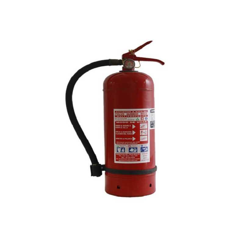 Extintor 2 KG Para Incendios ABC Exanco 140809