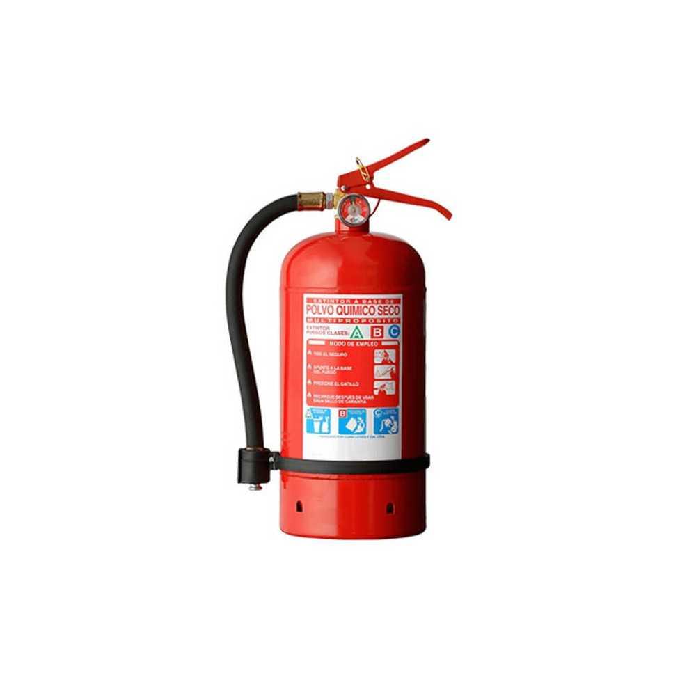 Extintor 4 KG Para Incendios ABC Exanco 35781
