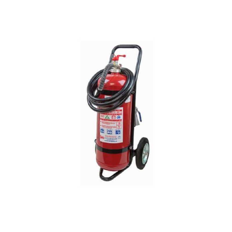 Extintor 25 Kilos Para Incendios ABC con Carro Exanco 140633