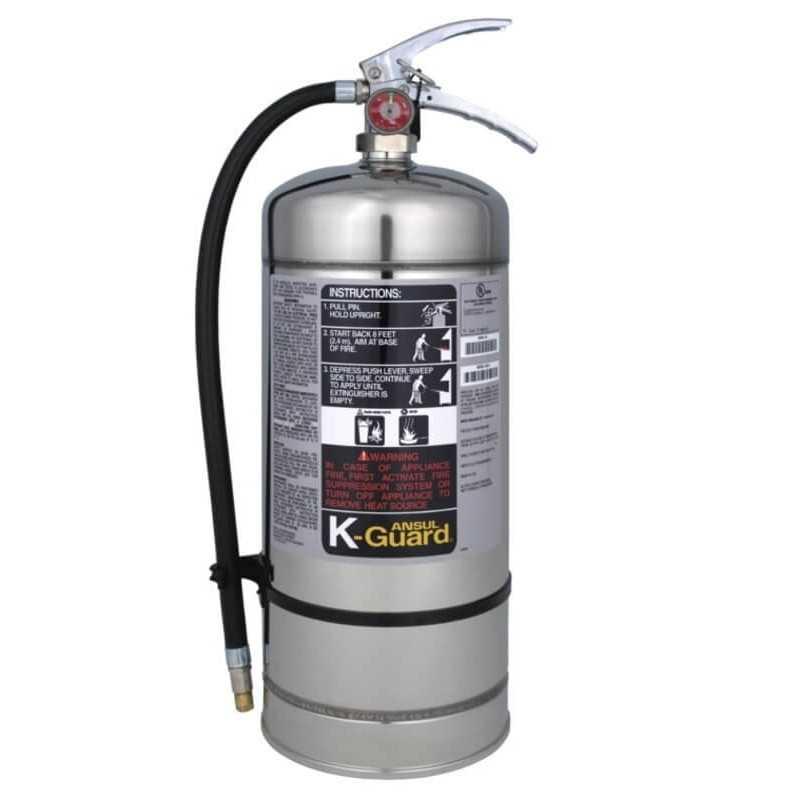 Extintor Clase K (Cocina) 6 LT Ansul 106799