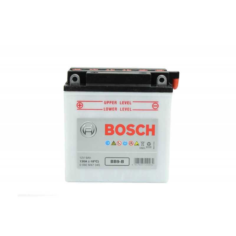 Batería de Moto 12V 9Ah Positivo Izquierdo M4 Bosch 39BB9-B
