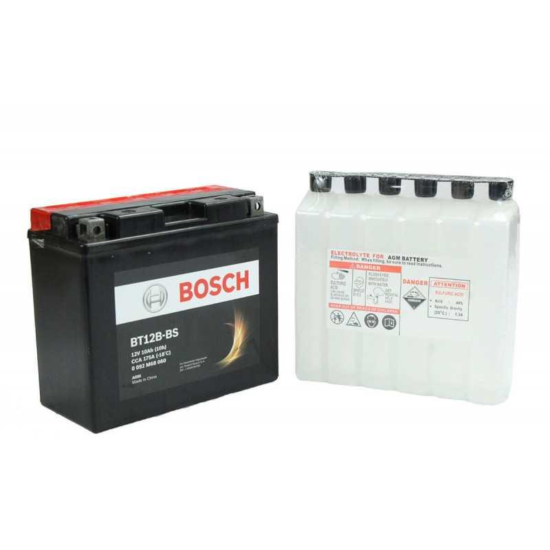 Batería de Moto 12V 10Ah Positivo Izquierdo M6 Bosch 39BT12B-BS