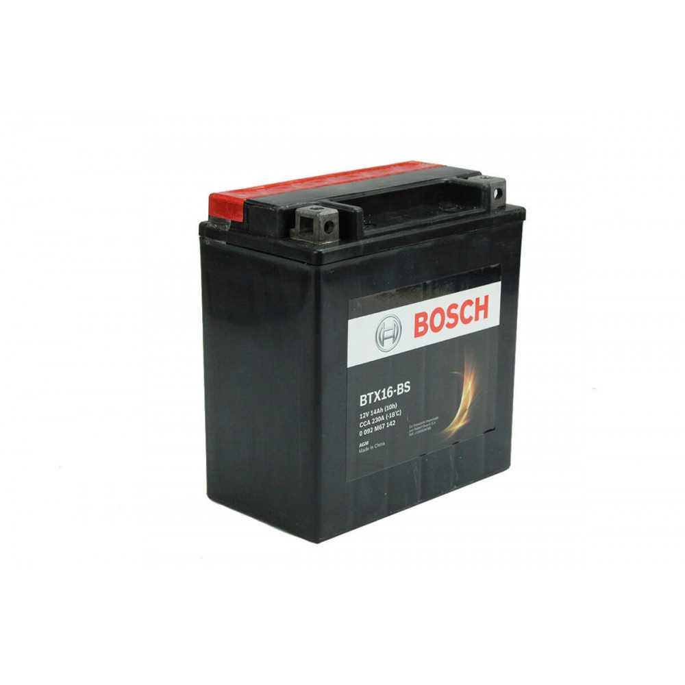 Batería de Moto 12V 14Ah Positivo Izquierdo M6 Bosch 39BTX16-BS