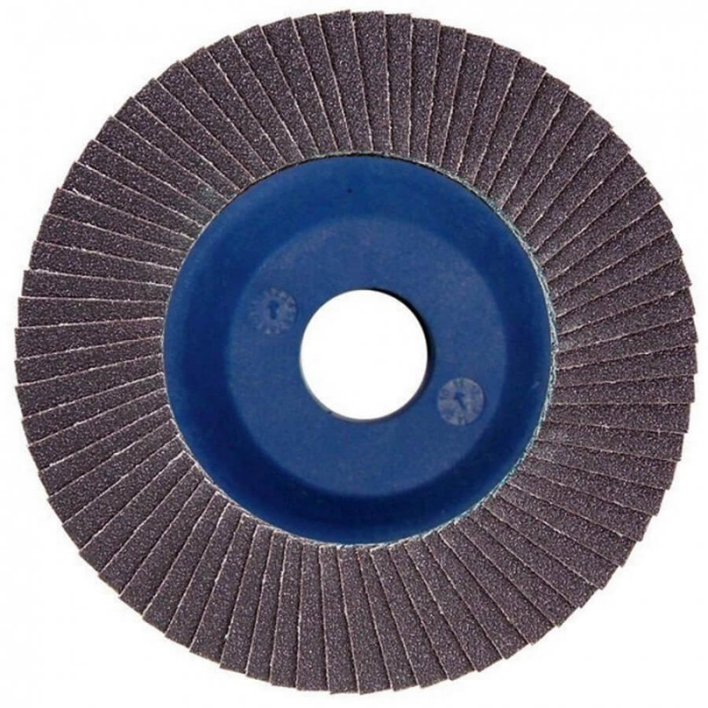 Disco Flap 115x22.23mm Grano 80 Carburo de Silicio / Concreto Makita D-28173